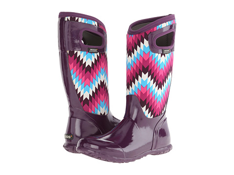 Bogs - North Hampton Native (Purple Multi) Women's Waterproof Boots