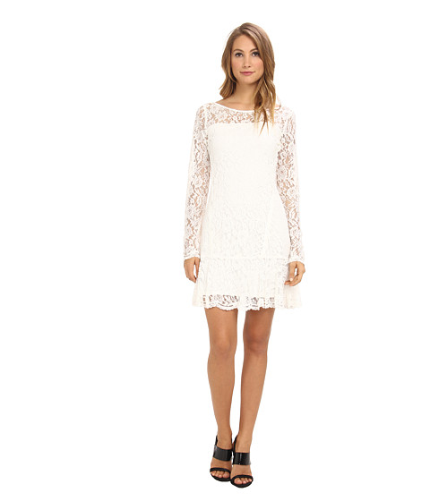 Hale Bob - Divine Rapture Lace Dress (Ivory) Women's Dress