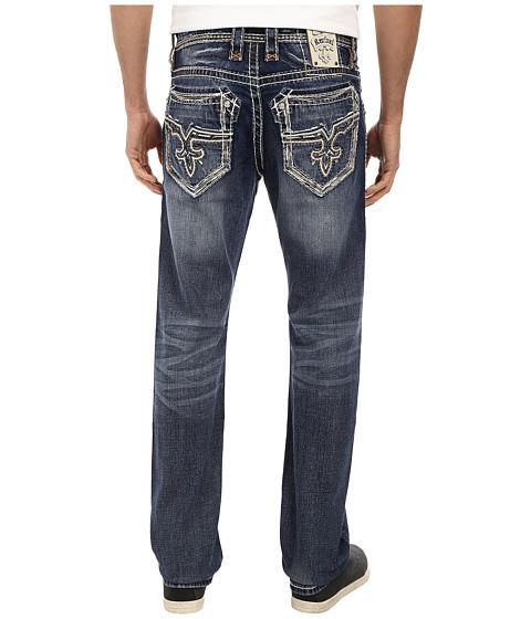 Rock Revival - Nathan J4 No Flap Straight Jean (Medium Blue) Men's Jeans
