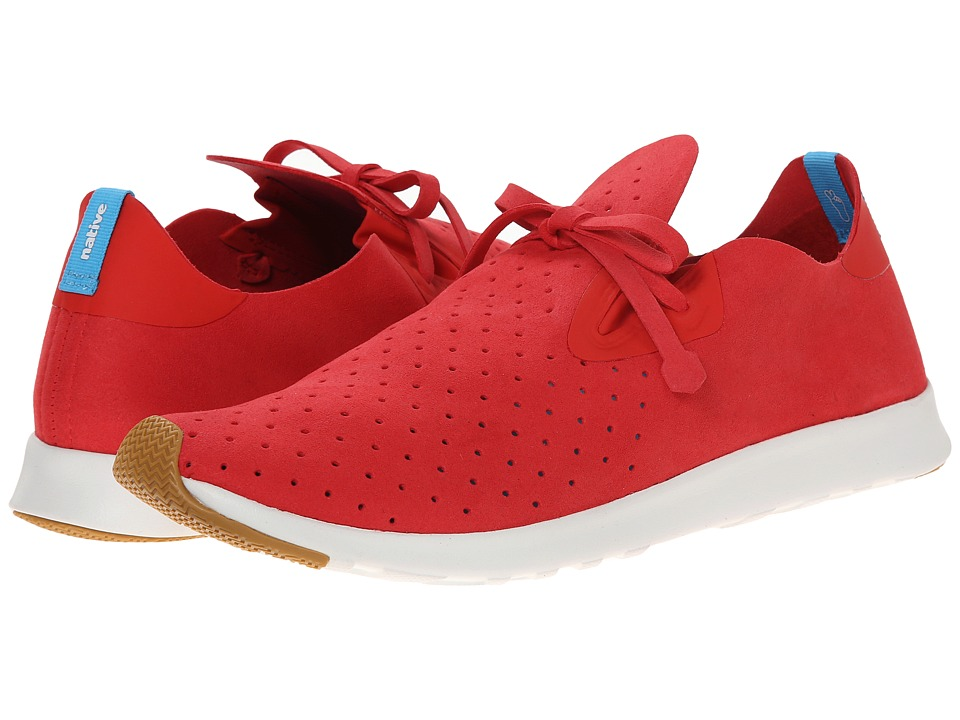 Native Shoes - Apollo Moc (Torch Red/Shell White) Shoes