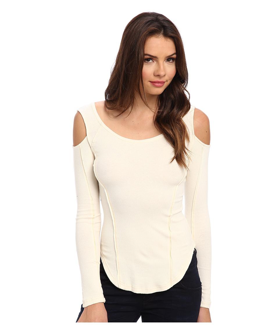 Free People - Prima Ballerina Top (Cream) Women's Long Sleeve Pullover