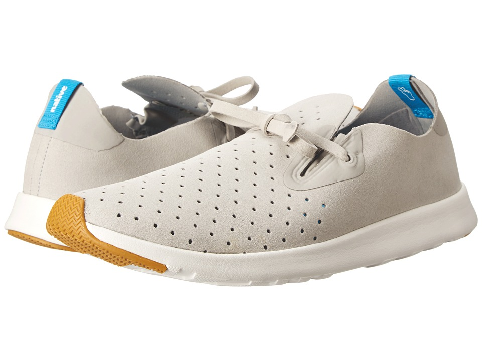 Native Shoes - Apollo Moc (Pigeon Grey/Shell White) Shoes