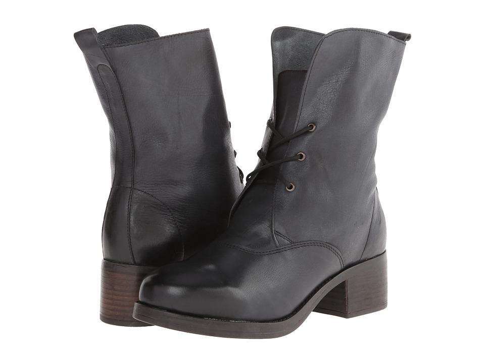 Gabriella Rocha - Paint (Black Vintage Leather) Women's Zip Boots