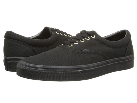 Vans - Era ((Gold Mono) Black) Skate Shoes