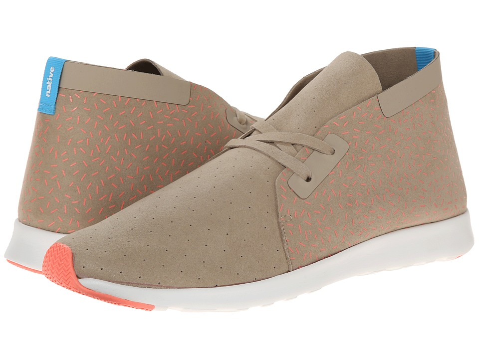 Native Shoes - Apollo Chukka (Rocky Brown/Sprinkle Print) Shoes