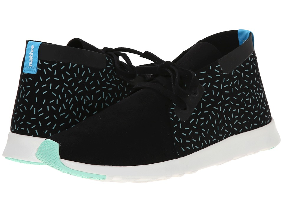 Native Shoes - Apollo Chukka (Jiffy Black/Sprinkle Print) Shoes