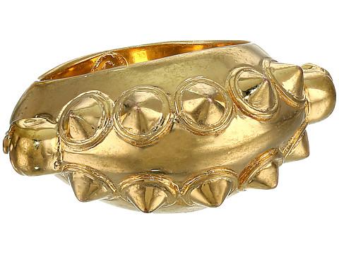 Alexander McQueen - Studs Skull Ring (Gold) Ring