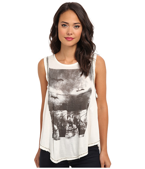 Free People - Slinky Rock Tank (Ivory Combo) Women