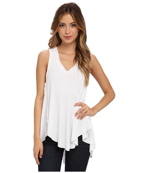 Free People - Monroe Tank (White) Women's Sleeveless
