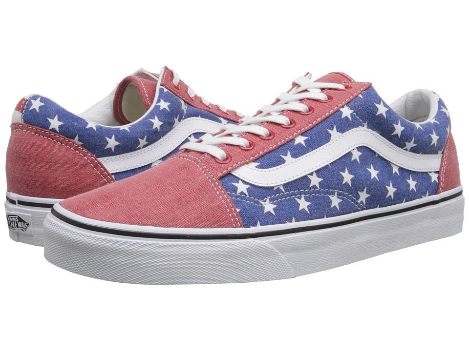 Vans - Old Skool ((Van Doren) Stars/Stripes) Skate Shoes
