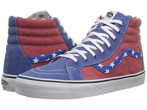 Vans - SK8-Hi Reissue ((Van Doren) Stars/Stripes) Skate Shoes