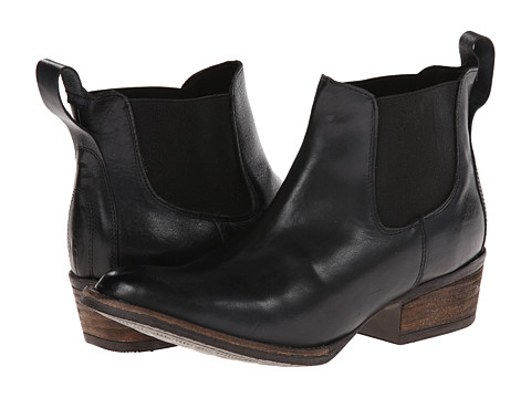 Gabriella Rocha - Shetland (Black Vintage Leather) Women's Pull-on Boots