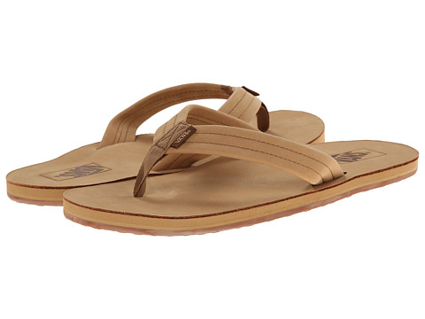 Vans - Stevenson ((Nubuck) Apple Cinnamon) Men's Sandals
