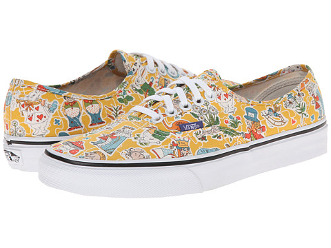 Vans - Authentic ((Liberty) Wonderland/True White) Skate Shoes