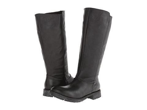 Gabriella Rocha - Appaloosa Wide Calf (Black Vintage Leather) Women's Zip Boots