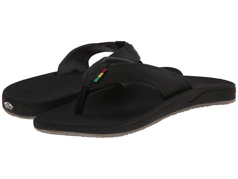 Vans - Slip Up ((Rasta) Black/Dark Shadow) Men's Sandals