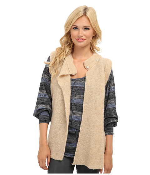 Free People - Stand And Deliver Cape Sweater (Camel) Women
