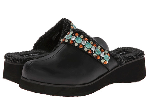 Grazie - Christie (Black) Women's Clog Shoes