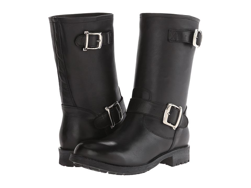 Gabriella Rocha - Stomper (Black Vintage Leather) Women's Zip Boots
