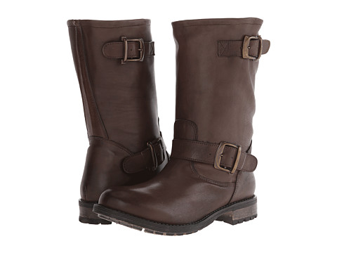 Gabriella Rocha - Stomper (Brown Vintage Leather) Women's Zip Boots