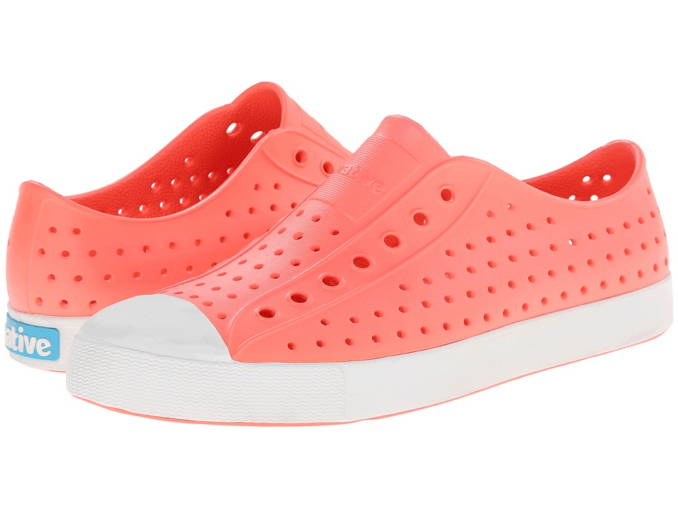 Native Shoes - Jefferson (Popstar Orange/Shell White) Shoes