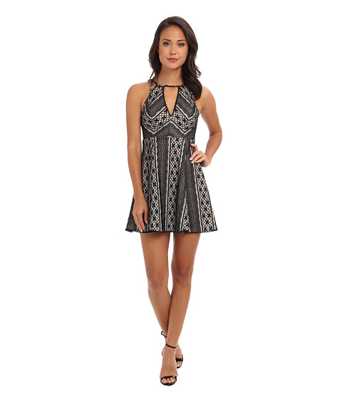 Free People - Miss Connections Dress (Black) Women's Dress