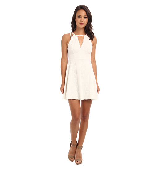 Free People - Miss Connections Dress (White) Women's Dress