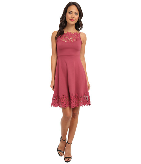 Free People - Forget Me Not Dress (Dusty Berry) Women's Dress