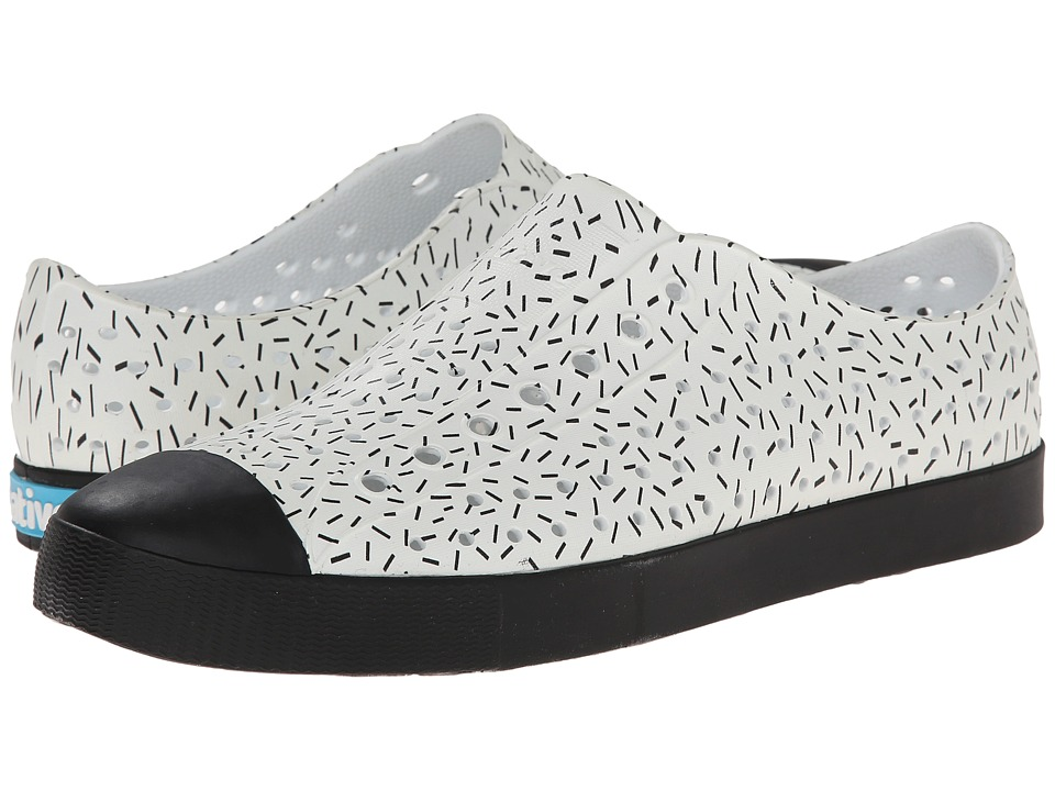 Native Shoes - Jefferson (Shell White/Sprinkle Print) Shoes