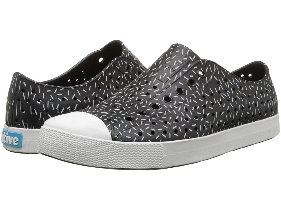 Native Shoes - Jefferson (Jiffy Black/Sprinkle Print) Shoes