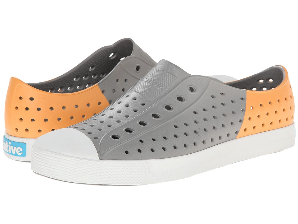 Native Shoes - Jefferson (Pigeon Grey/Lazer Orange) Shoes
