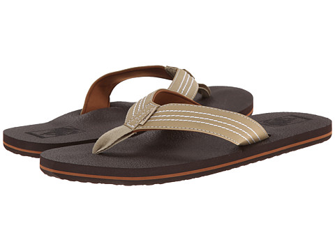 Vans - U.Cush (Tan/Dark Brown) Men's Sandals