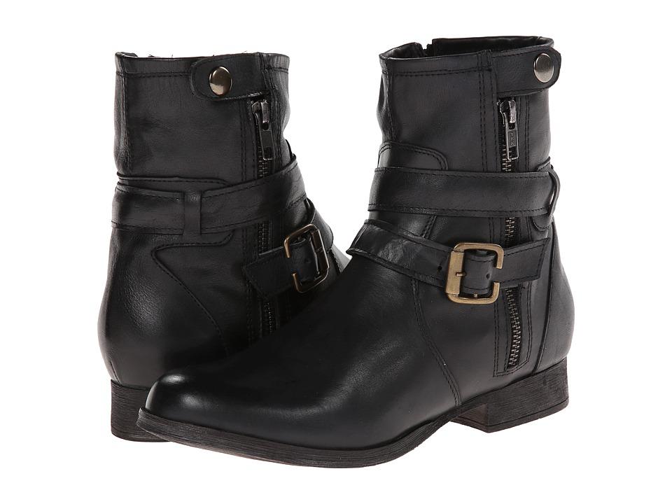 Gabriella Rocha - Cruiser (Black Vintage Leather) Women's Zip Boots