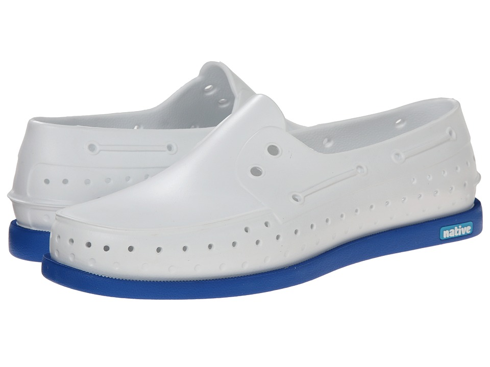 Native Shoes - Howard (Shell White/Victoria Blue) Shoes