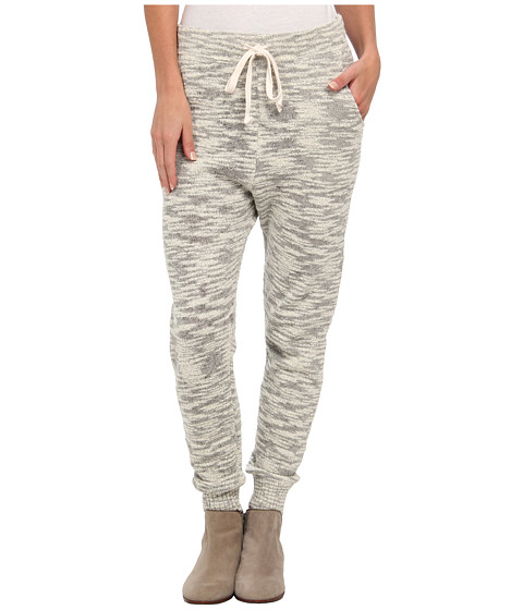 Free People - Sweater Harem Pant (Light Grey) Women's Casual Pants