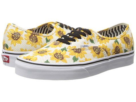Vans - Authentic ((Sunflower) True White) Skate Shoes