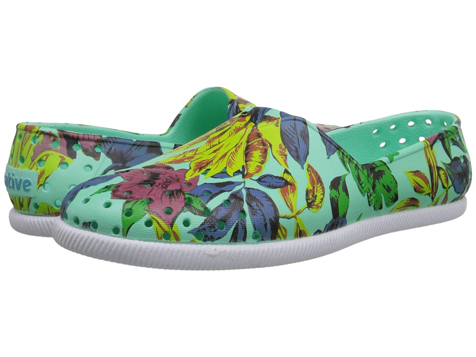 Native Shoes - Verona (Glass Green/Dayglo Bloom Print) Shoes