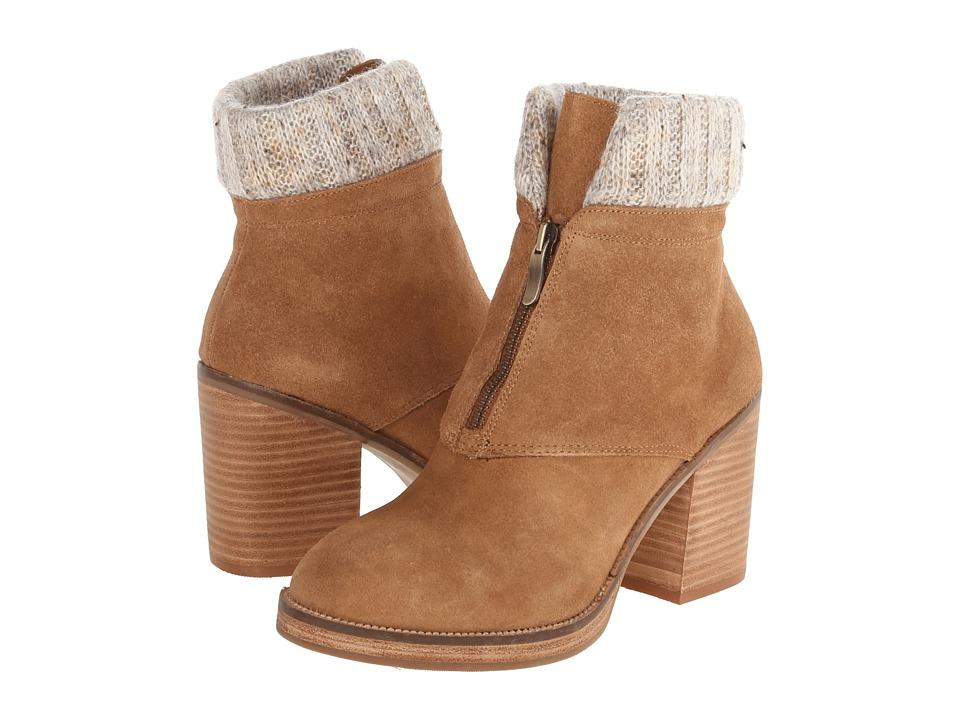 Chinese Laundry Marvel Suede (Dark Camel) Women