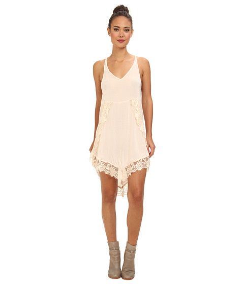Free People - Eyelashes Slip (Shell) Women