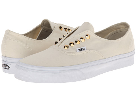 Vans - Authentic Gore ((Studs) White) Skate Shoes