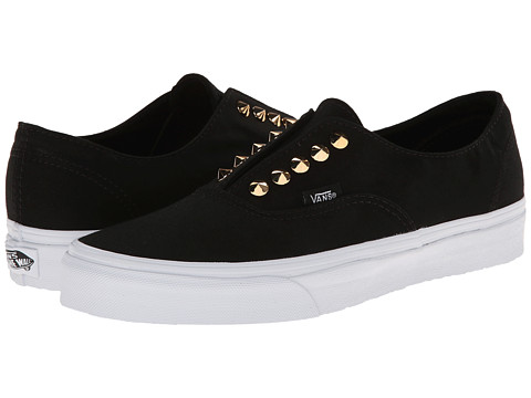 Vans - Authentic Gore ((Studs) Black) Skate Shoes