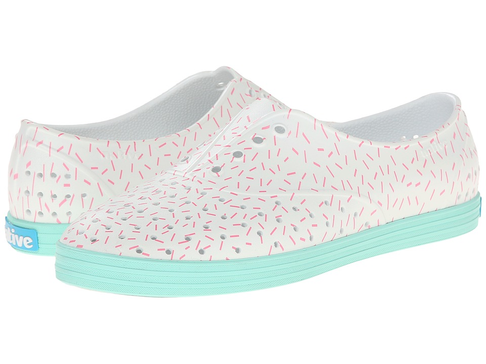 Native Shoes - Jericho (Floyd Pink/Sprinkle Print) Women