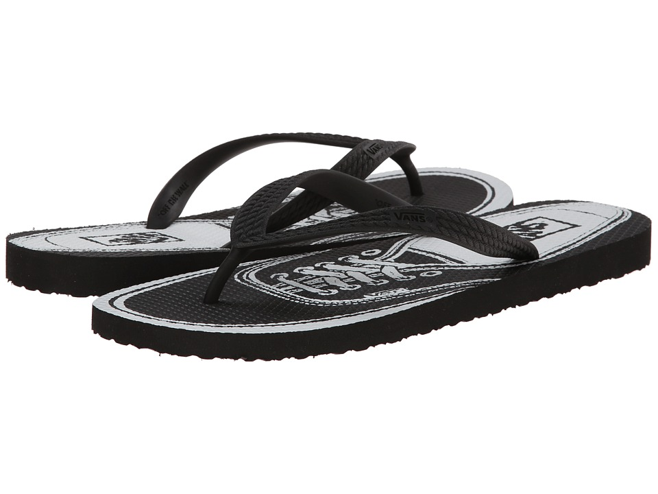 Vans - Hanelei ((Authentic) Black) Men's Sandals