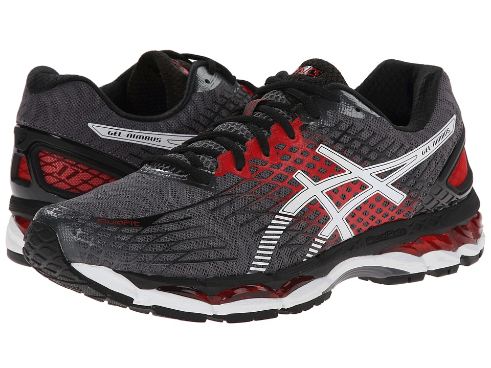 ASICS - GEL-Nimbus 17 (Carbon/White/Black) Men's Running Shoes