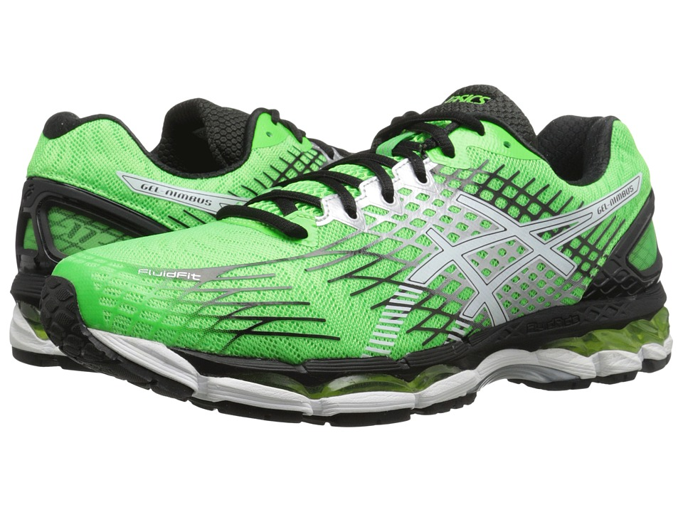 ASICS GEL-Nimbus 17 (Flash Green/White/Black) Men