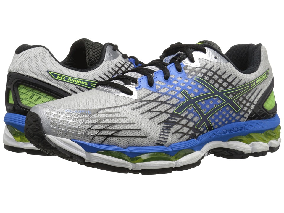 ASICS - GEL-Nimbus 17 (Lightning/Black/Flash Yellow) Men's Running Shoes