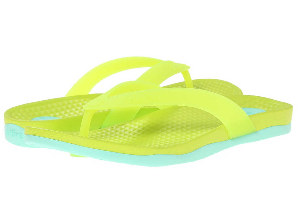 Native Shoes - Paolo (Chartreuse Green/Glass Green) Sandals