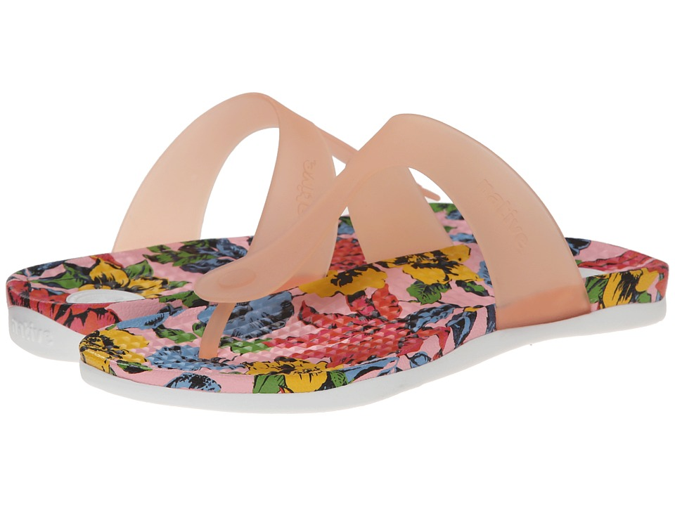 Native Shoes - Blanca (Princess/Dayglo Bloom Print) Women's Sandals