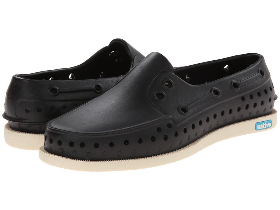 Native Shoes - Howard (Jiffy Black/Bone White) Shoes