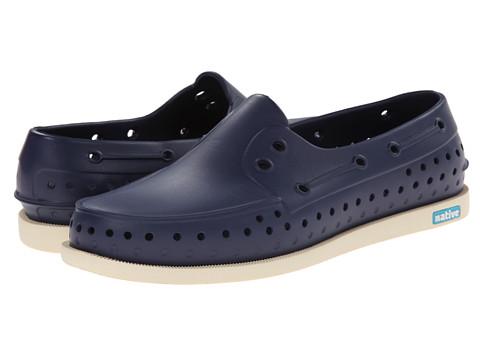 Native Shoes - Howard (Regatta Blue/Bone White) Shoes